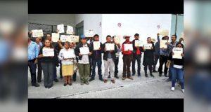 Entregan a Semarnat firmas y exigen no dar MIA para minera en Ixtacamaxtitlán