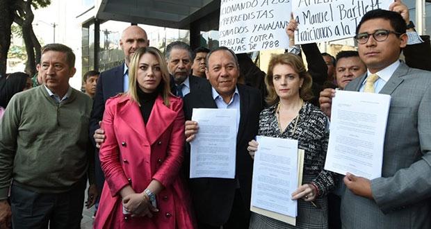 Denuncian a Manuel Bartlett ante FGR por enriquecimiento ilícito