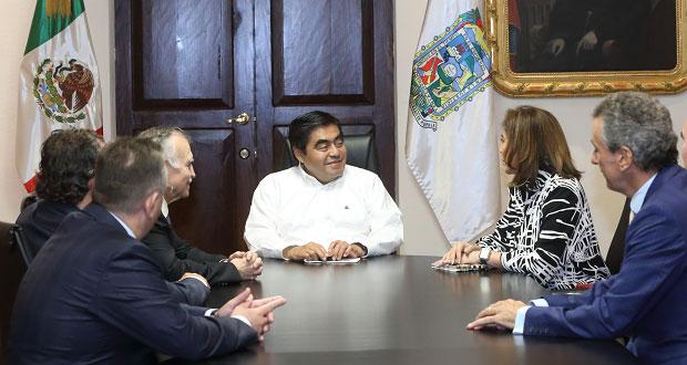 Federación respaldará a gobierno de Puebla para aterrizar inversiones: Romo