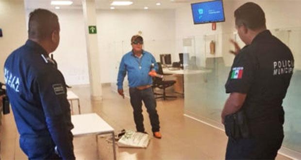 Abaten a hombre por tomar rehenes en Banamex de Pachuca