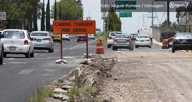 Puebla, el que menos recibiría de Federación para comunicación y transporte