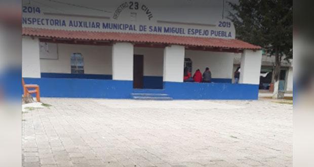 Repetirán elección en San Miguel Espejo por empate de 314 entre 2° y 1° lugar