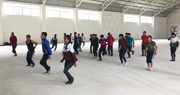 Antorcha exhorta a jóvenes de Huauchinango a integrarse a su ballet