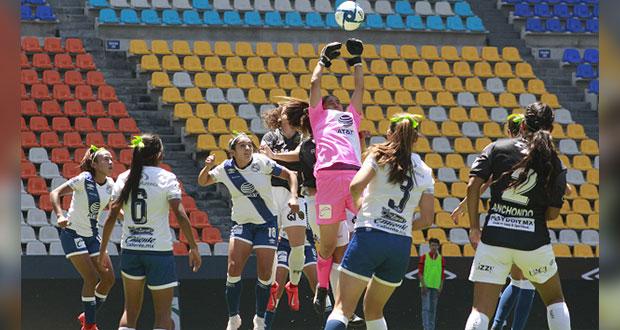 Investigarán acoso de árbitro a jugadoras de Club Puebla