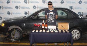Ssptm detiene en Solidaridad Nacional a presunto asaltante de Oxxo
