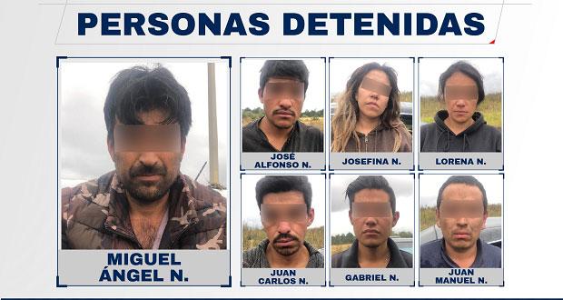 FGE y policías de Chignahuapan desarticulan banda delictiva