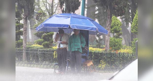 Por humedad, lloverá las próximas horas en las Sierras de Puebla