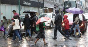 Hasta el jueves, se prevén lluvias por frente frío en Puebla