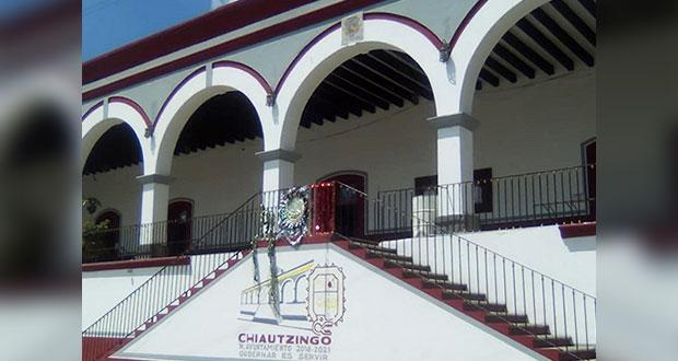 Habitantes de Chiautzingo exigen al ayuntamiento apoyos para obras