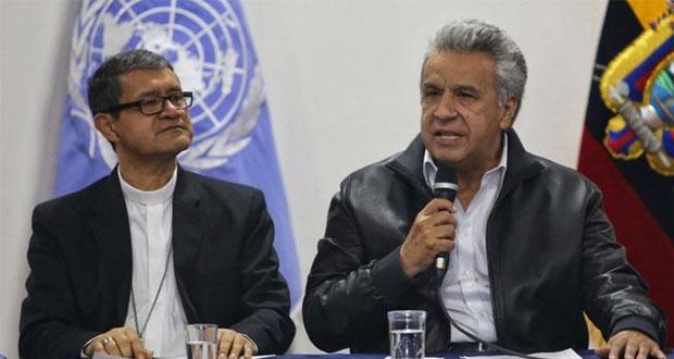 Presidente de Ecuador deroga ajustes económicos y cesan protestas