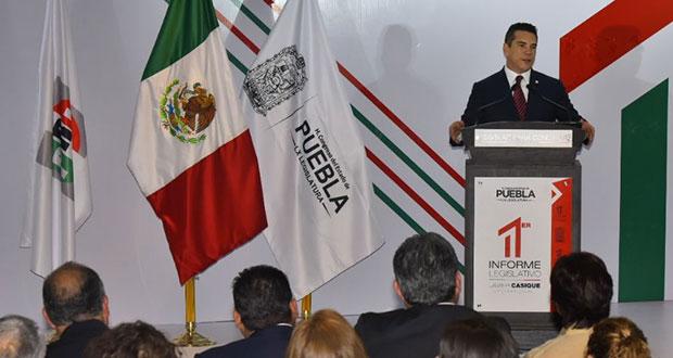 Renovación del PRI en Puebla, sin fecha; se trabaja en convocatoria: Moreno