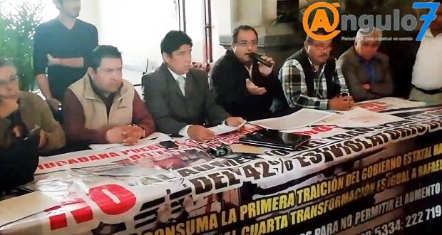 Proponen crear consejo ciudadano para vigilar mejora del transporte en Puebla