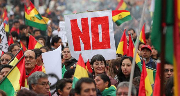 Tensión en Bolivia por protestas tras reelección de Evo Morales