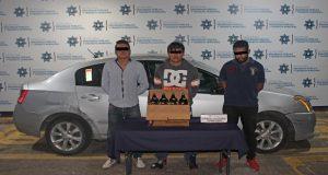 Detienen a tres por robar cervezas a repartidor en La Margarita