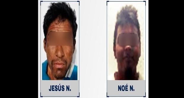 Dan prisión preventiva a dos hombres por robar taxi en Tehuacán