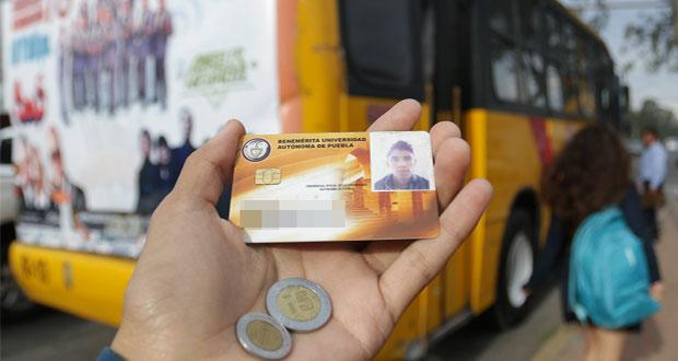 Con excepciones, rutas de Puebla inician descuento para estudiantes
