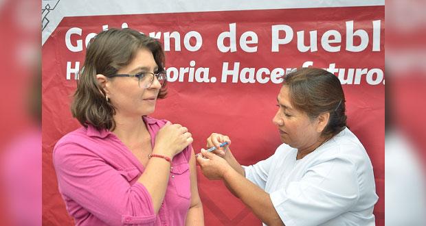 Salud aplicará un millón de vacunas contra la influenza en Puebla
