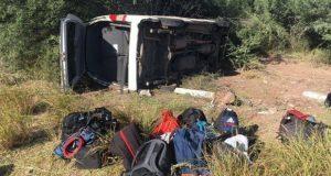 Identifican a reporteros accidentados al cubrir gira de AMLO en Sonora