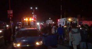 Aparatoso accidente en Juan C. Bonilla deja al menos un muerto