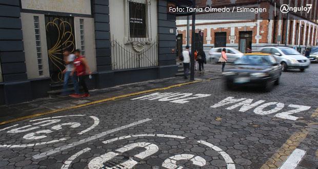 Comuna analizará ampliar más calles del CH para zona 30 y evitar incidentes