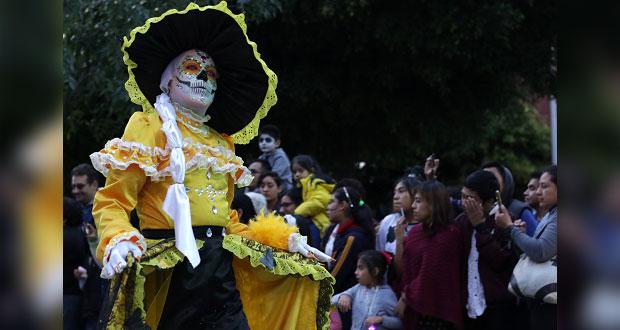 Más de 60 mil personas presenciaron el Desfile de Calaveras