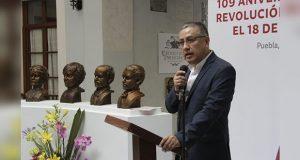 En Puebla, se vivieron 100 años sin justicia social: Cuéllar