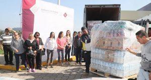 Abastecen 10 Unidades Móviles Alimentarias en Huauchinango
