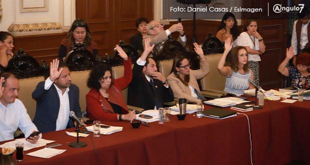 Cabildo de Puebla avala Ley de Ingresos para 2020 por 5 mil 290 mdp, 4.7% más