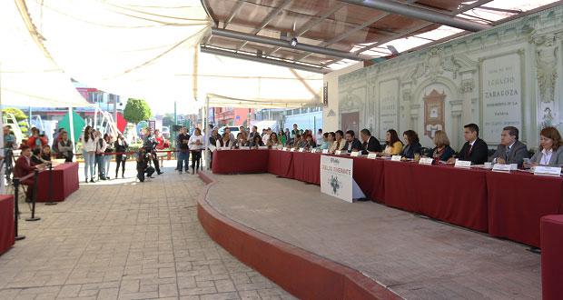 En Cabildo itinerante, piden más presupuesto para La Libertad