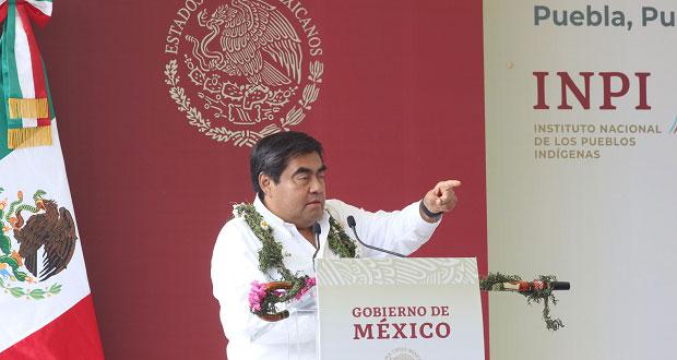 Canoa será el municipio autónomo de la montaña de Puebla, anuncia Barbosa