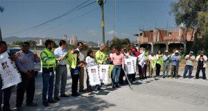 Con apoyo de Cemex, inician pavimentación de la Cuautinchán-Tepeaca