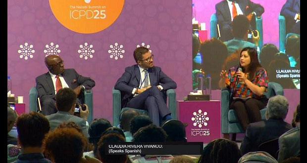 Rivera presenta en Kenia, avances para garantizar derechos de la mujer