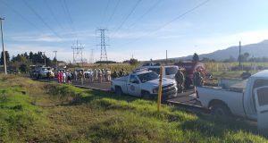 Controlan fuga de gas en Ahuazotepec; inician reparación de ducto