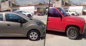 Mediante arco de seguridad de Cuapiaxtla, recuperan 2 vehículos