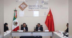Delegación China de seguridad va a C5 para intercambiar experiencias