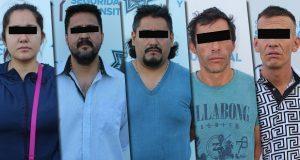 Detienen a 3 por intento de homicidio y a 2 por robo en Puebla