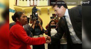 Entre presiones, Félix Cerezo recibe petición para atraer caso Chalchihuapan