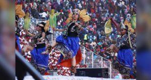 Destacan montaje sobre fundación de Tenochtitlan por bailarines
