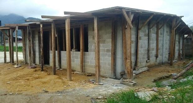 Construye gobierno de Huitzilan aulas en Talcuaco