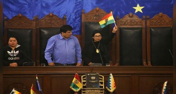 Opositores a golpe militar asumen presidencias en Congreso de Bolivia