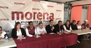Morena en Puebla no tendrá comité provisional, sostuvo Bracamonte