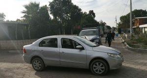 Detienen en Palmar de Bravo a 2 hombres y una mujer en auto robado