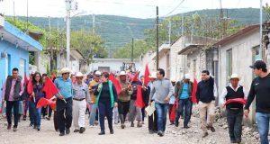 Pavimentarán calle Iturbide en San Felipe Otlaltepec, Tepexi
