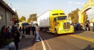 Policía Estatal asume seguridad en Aljojuca y reabren carretera