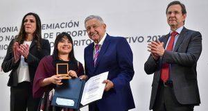 Premio Nacional del Deporte, a Alexa Moreno, Espinosa y Diego López