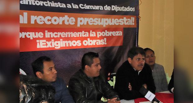 Piden en la sierra norte de Puebla distribución equitativa del PEF 2020