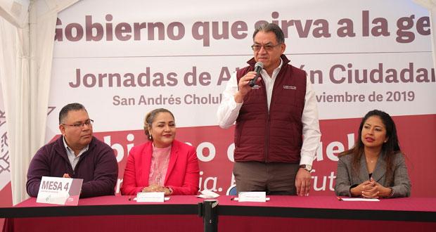 SEP llega a San Andrés Cholula con el martes ciudadano