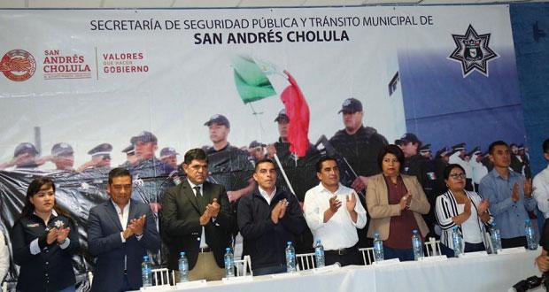 San Andrés invierte 2.1 mdp para uniformar a policías municipales