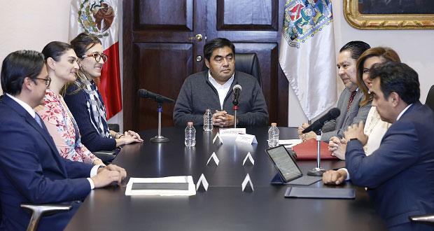 Suscribe gobierno alianza con Waze para mejorar movilidad en Puebla