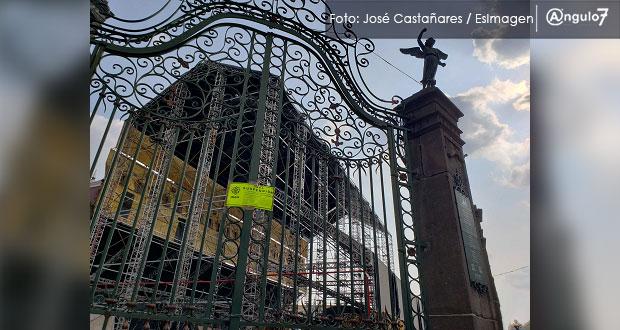 Suspende INAH instalación de réplica de Capilla Sixtina en atrio de Catedral